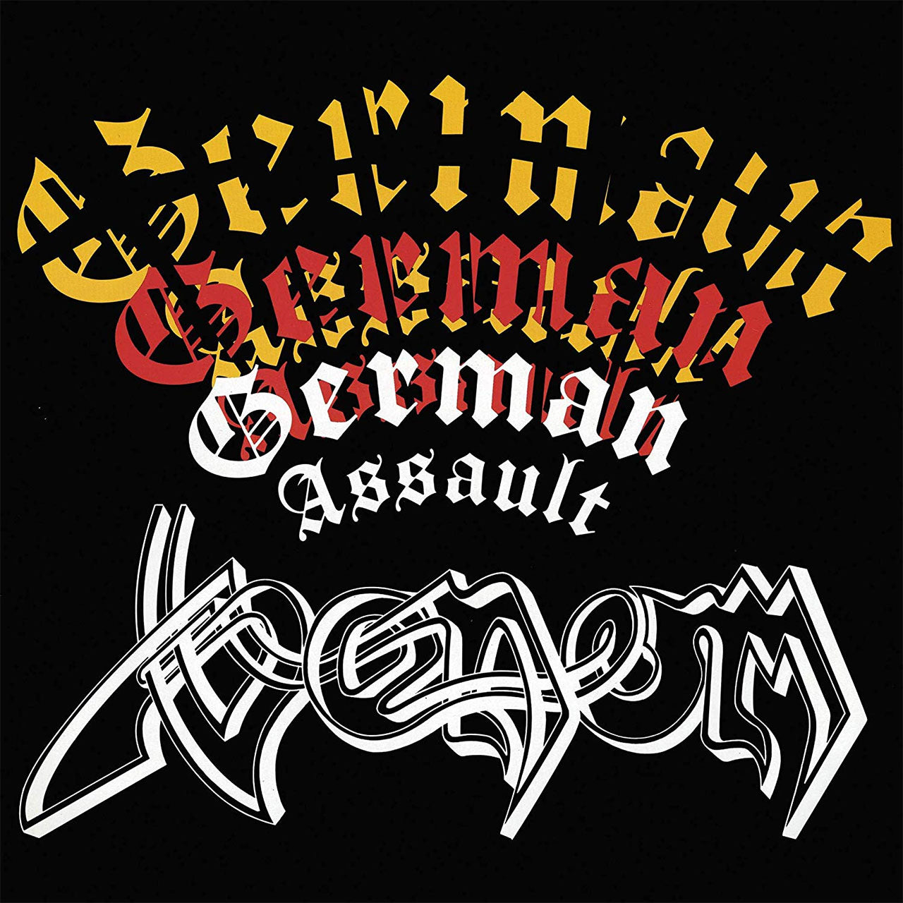 Venom - German Assault (2017 Reissue) (LP)