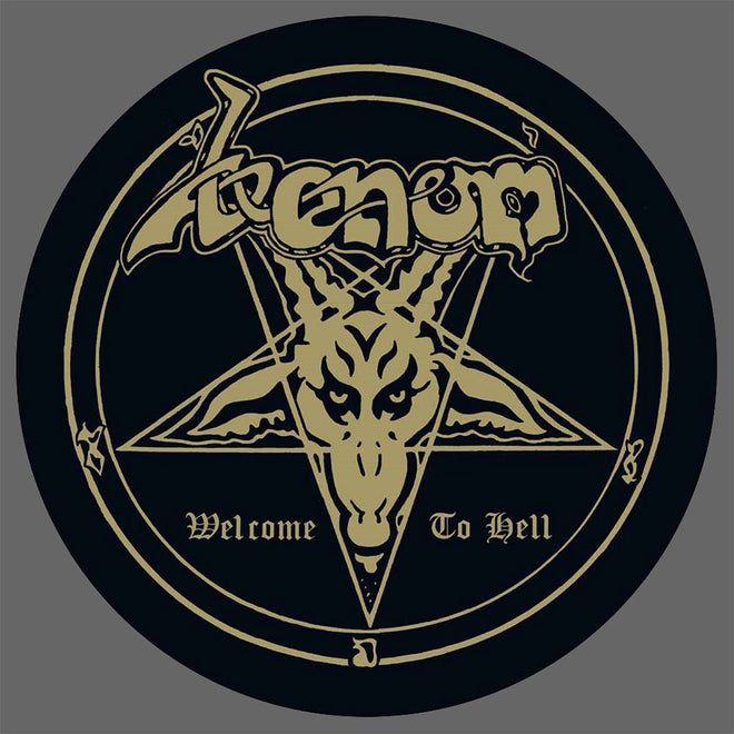 Venom - Welcome to Hell (2017 Reissue) (Picture Disc LP)