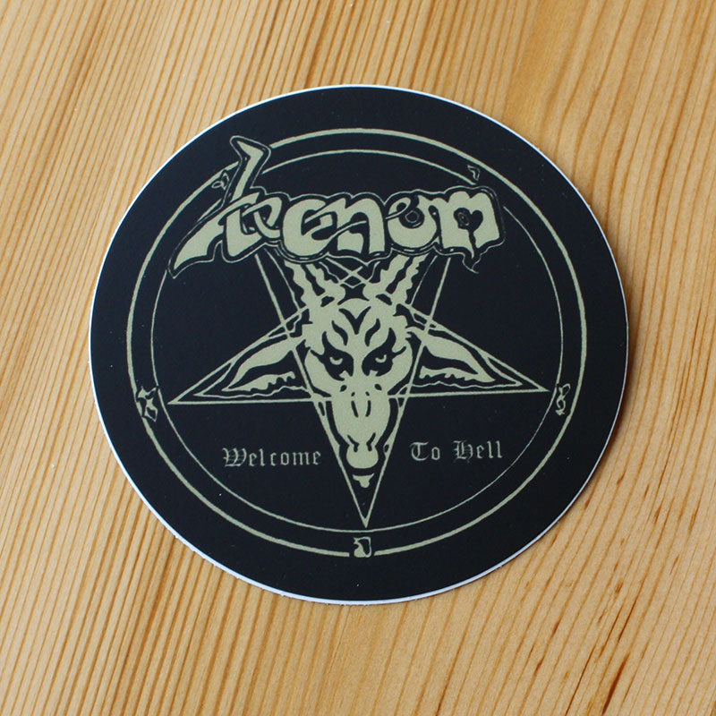 Venom - Welcome to Hell (Sticker)