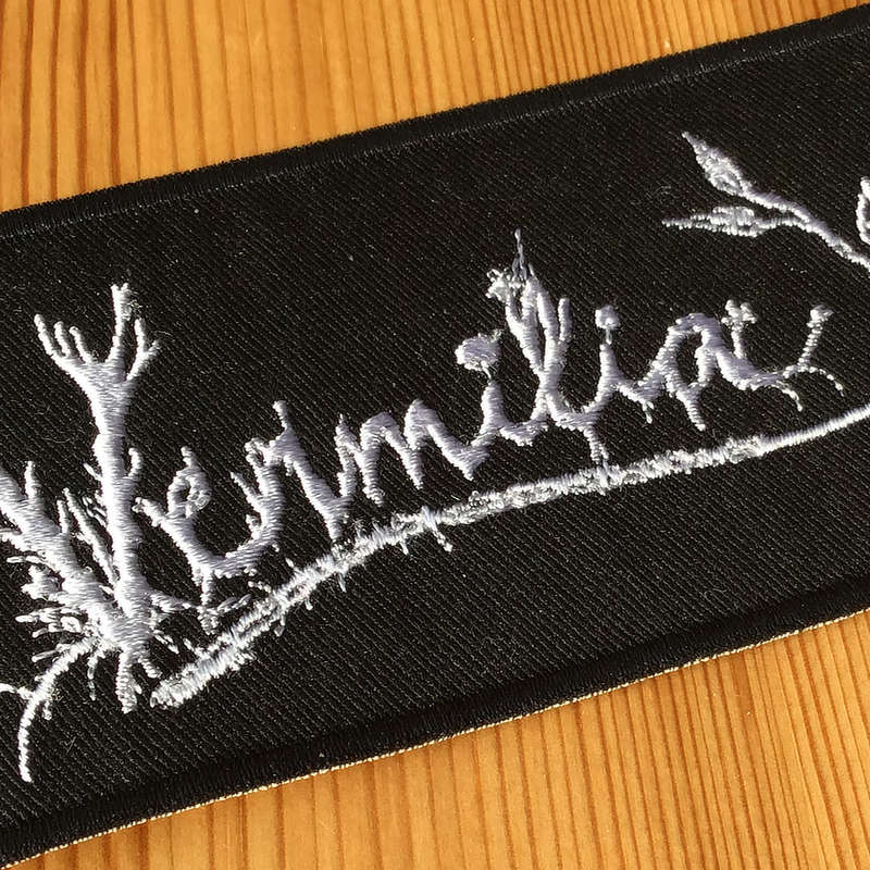 Vermilia - Logo (Embroidered Patch)