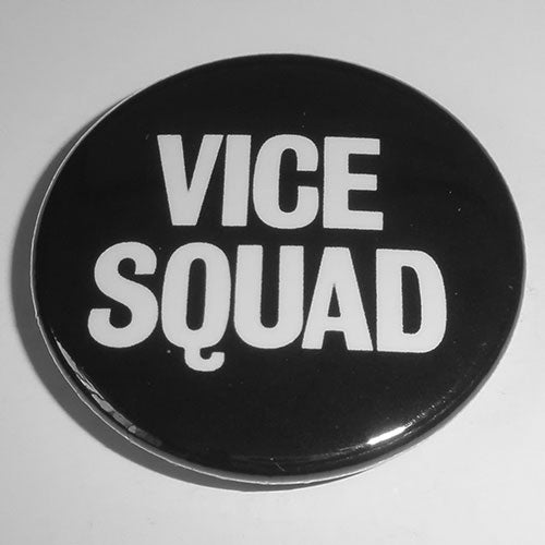 Vice Squad - White Logo (Badge)