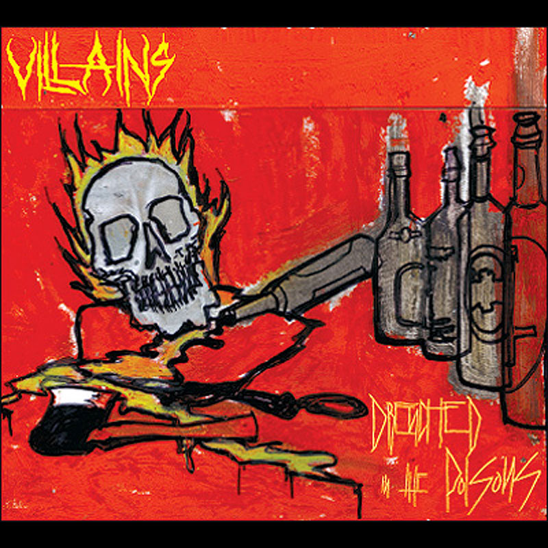 Villains - Drenched in the Poisons (Digipak CD)