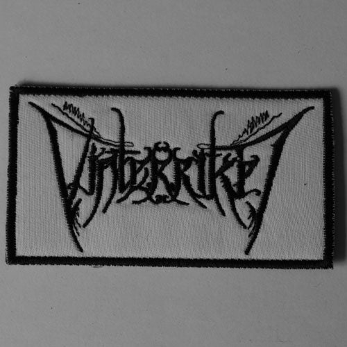 Vinterriket - Black Logo (Embroidered Patch)