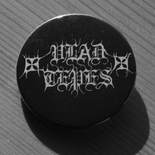 Vlad Tepes - White Logo (Badge)