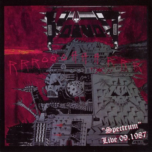 Voivod - Spectrum Live 09 1987 (CD)