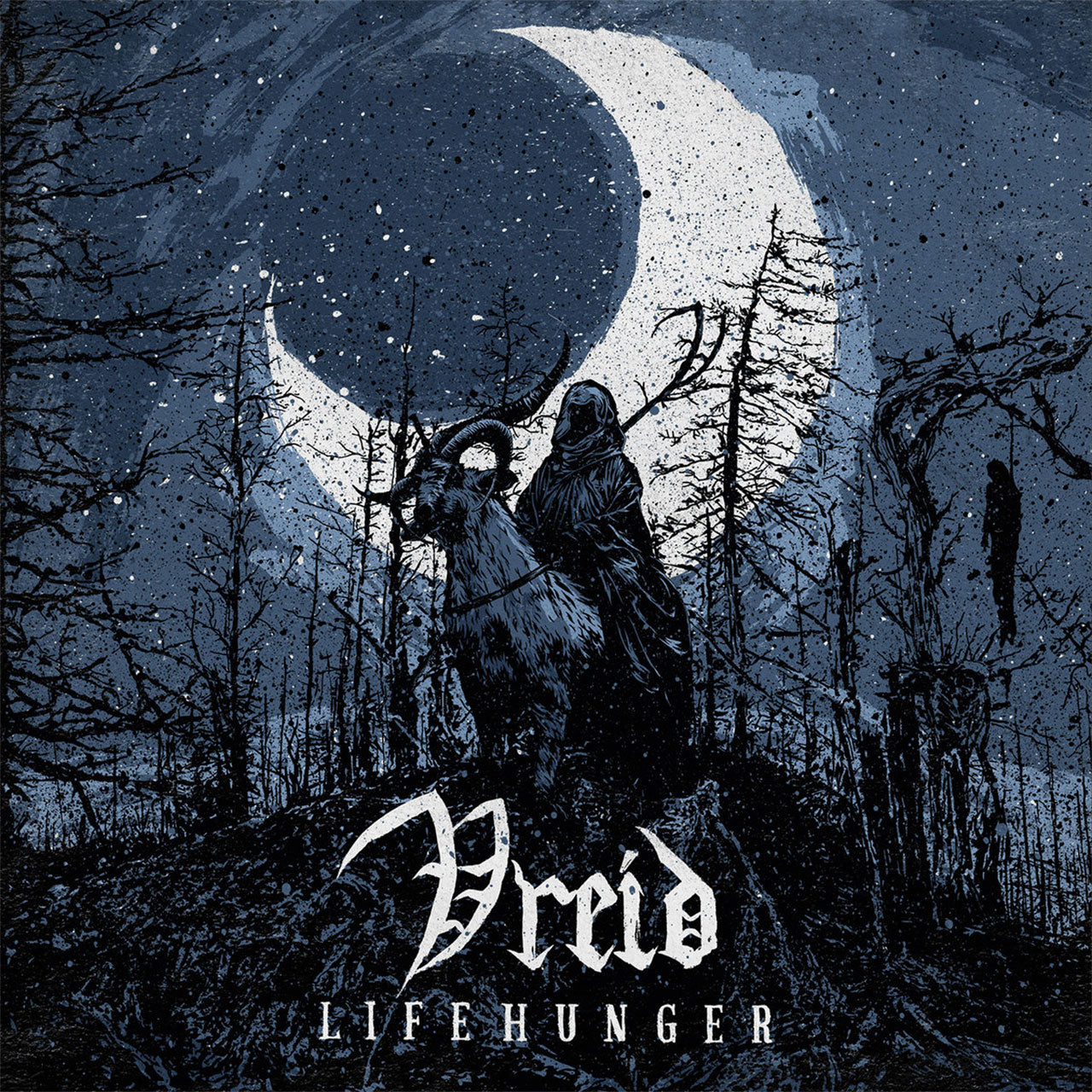 Vreid - Lifehunger (White Edition) (LP)