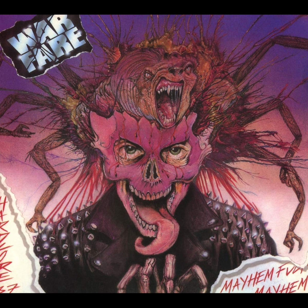 Warfare - Mayhem Fuckin' Mayhem (2018 Reissue) (Digipak CD)