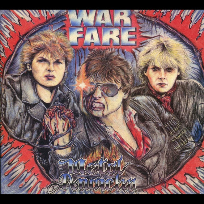 Warfare - Metal Anarchy (2018 Reissue) (Digipak CD)