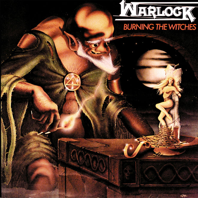 Warlock - Burning the Witches (CD)