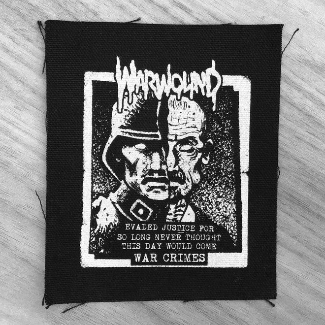 Warwound - War Crimes (Printed Patch)