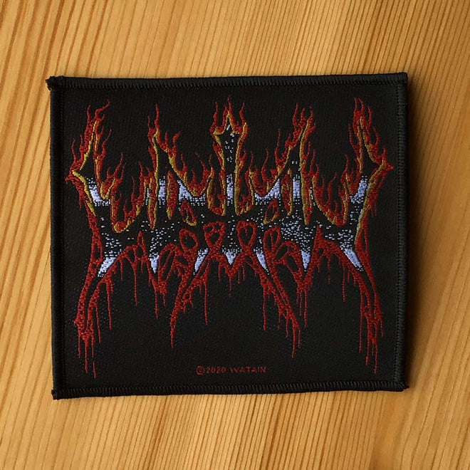 Watain - Flaming Logo (Woven Patch)