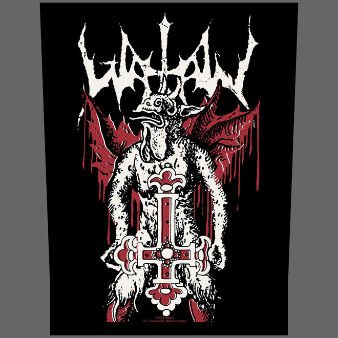 Watain - Inverted Cross (Backpatch)