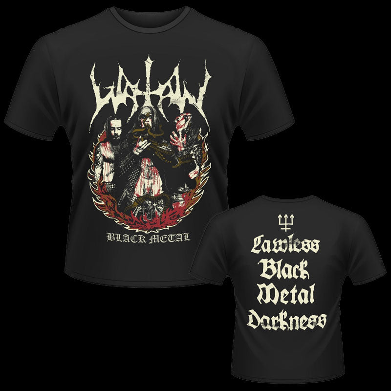 Watain - Vintage Fire / Lawless Black Metal Darkness (T-Shirt)