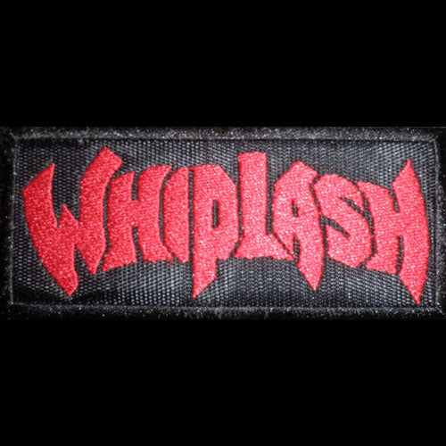 Whiplash - Red Logo (Embroidered Patch)