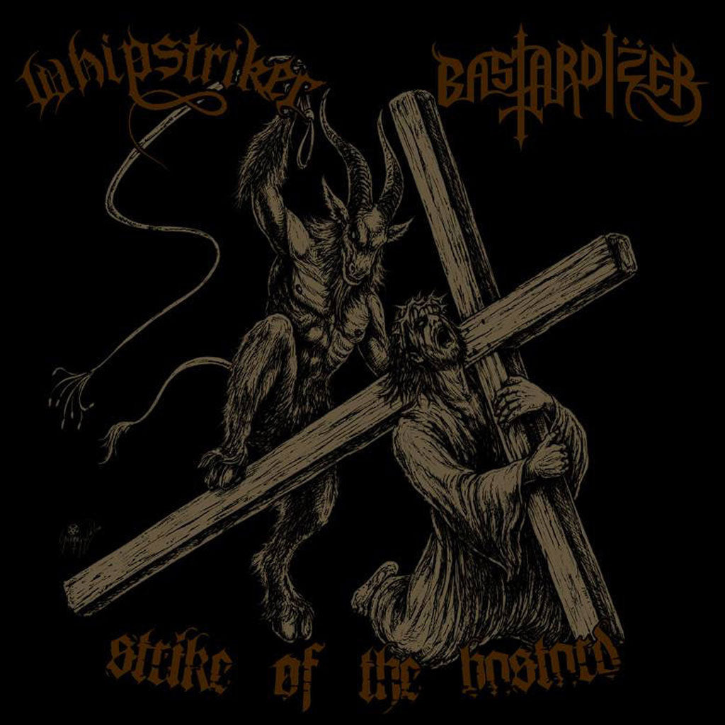 Whipstriker / Bastardizer - Strike of the Bastard (CD)