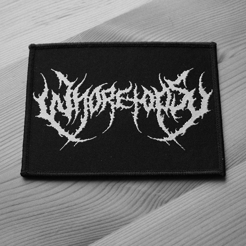 Whoretopsy - White Logo (Woven Patch)