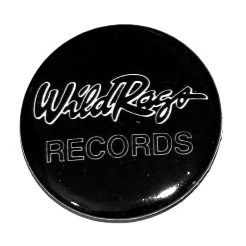 Wild Rags Records - White Logo (Badge)