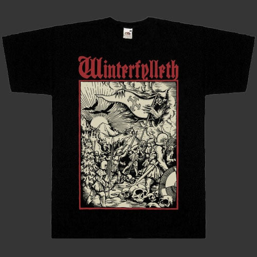 Winterfylleth - Warrior Herd (Red Logo) (T-Shirt)