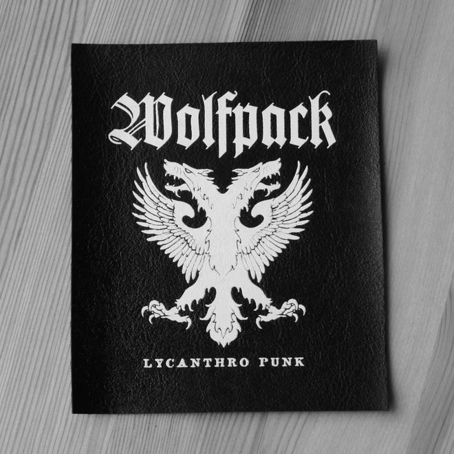 Wolfpack - Lycanthro Punk (Leather) (Printed Patch)