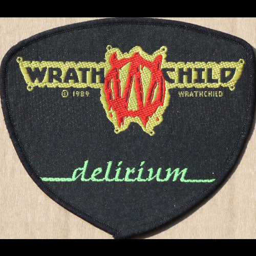 Wrathchild - Delirium (Embroidered Patch)