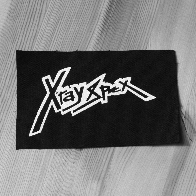 X-Ray Spex - White Logo (Printed Patch)