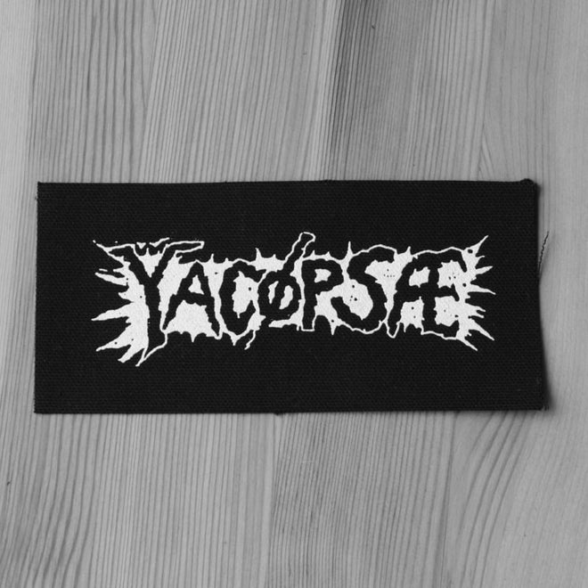 Yacopsae - White Logo (Printed Patch)