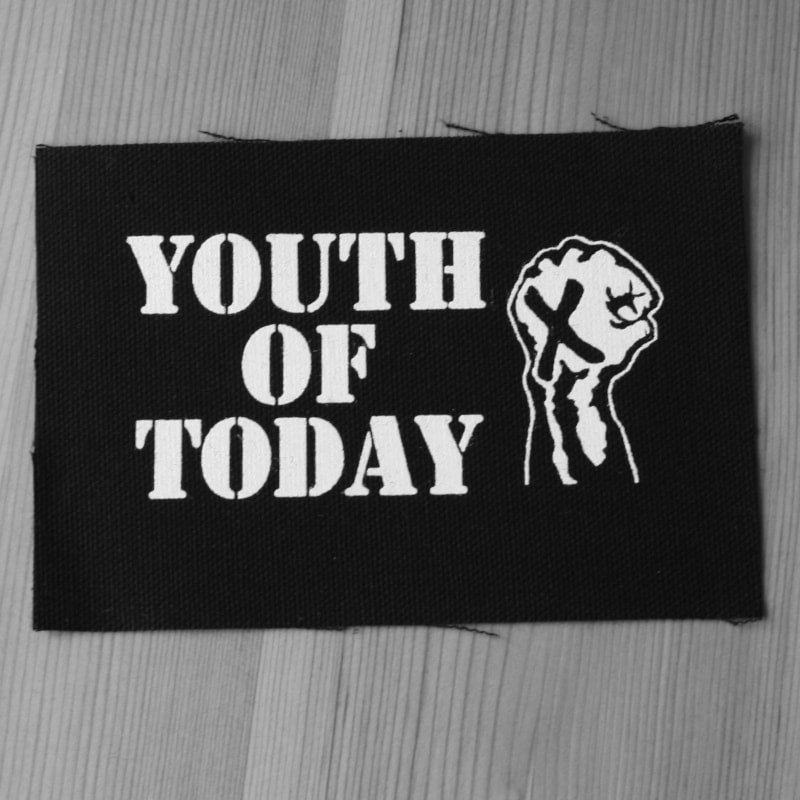 Youth of Today - White Logo (Printed Patch)