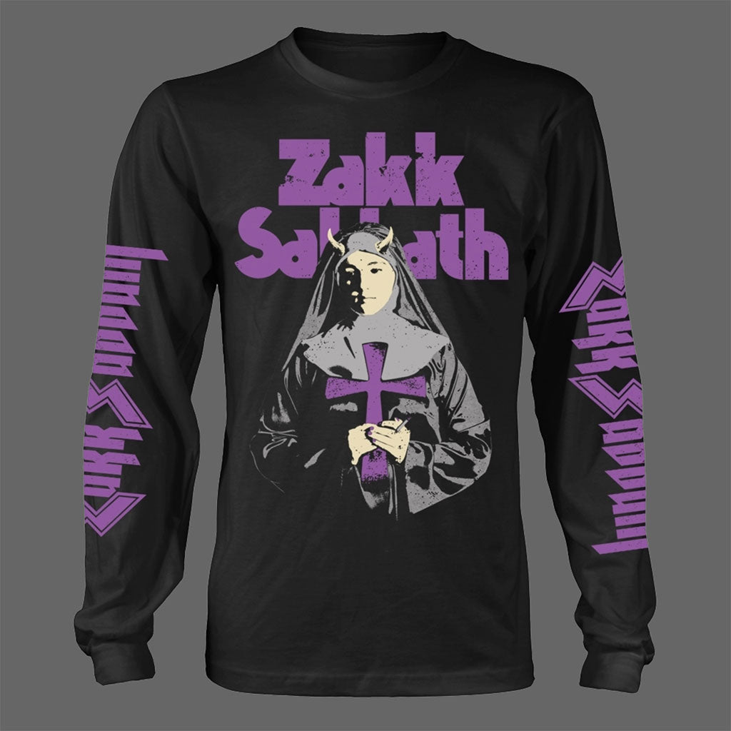 Zakk Sabbath - Nun (Long Sleeve T-Shirt)