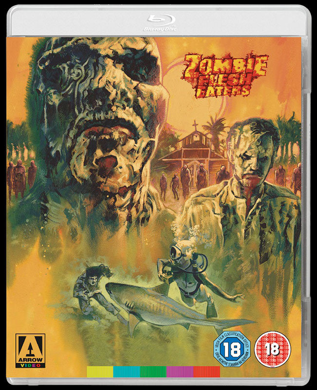 Zombie Flesh Eaters (1979) (Blu-ray)