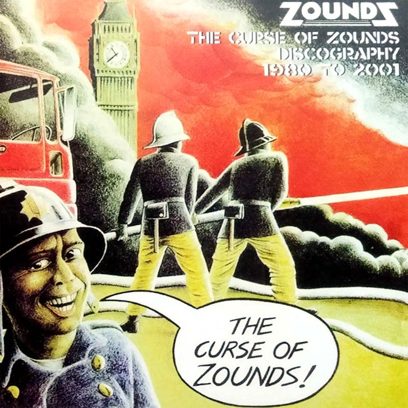 Zounds - The Curse of Zounds Discography (CD)