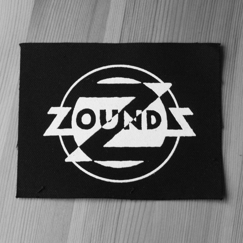 Zounds - White Logo (Printed Patch)
