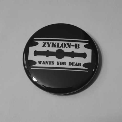 Zyklon-B - Wants You Dead (Badge)
