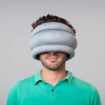 OSTRICHPILLOW® Light as eye mask