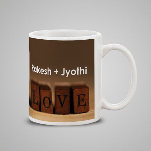 Couple + Name Mug