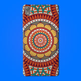 Abstract Preprinted  Mobile case -10
