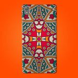 Abstract Preprinted  Mobile case -11