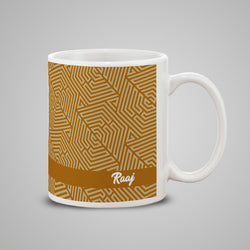 Yellow Name Mug