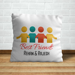 Friends with Names Pillow