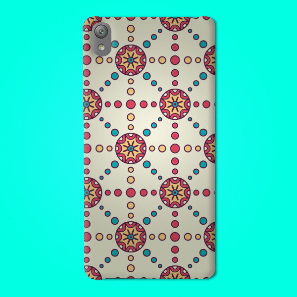 Abstract Preprinted  Mobile case -14