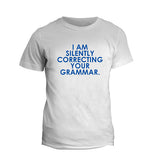 White Grammar T-Shirt