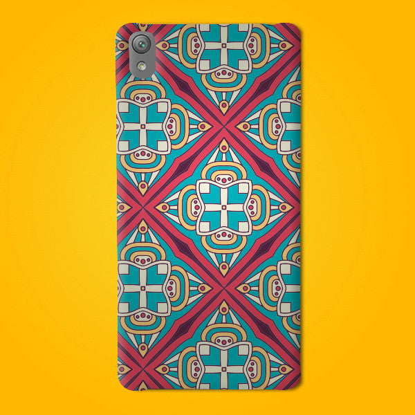 Abstract Preprinted  Mobile case -15