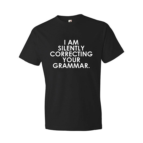 Black Grammar T-Shirt