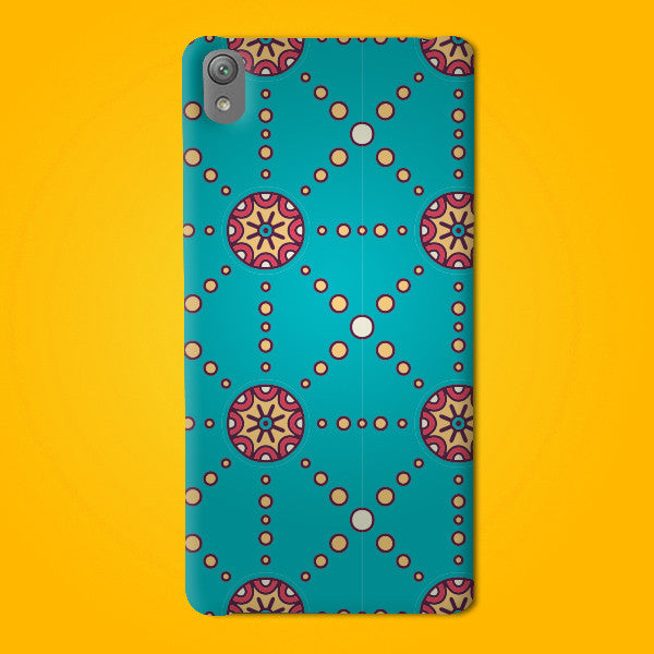 Abstract Preprinted  Mobile case -16