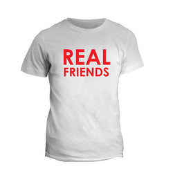 White Real Friend T-Shirt