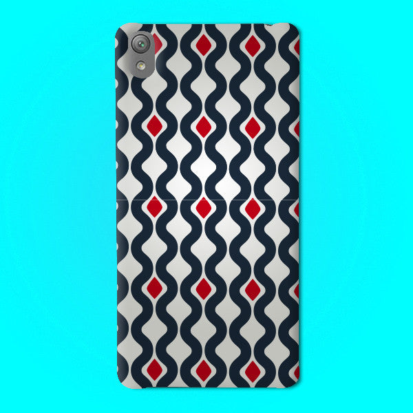 Abstract Preprinted  Mobile case -19