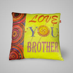 Luv u Brother Pillow - 12x12