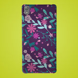 Flower Abstract Preprinted  Mobile case