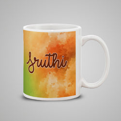 Water Color Texture Mug