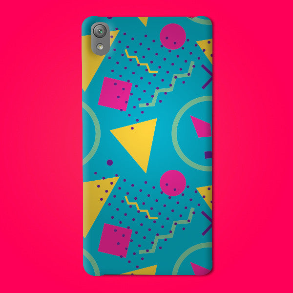 Abstract Preprinted  Mobile case -27