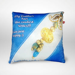 Coolest Sister Pillow - 12x12